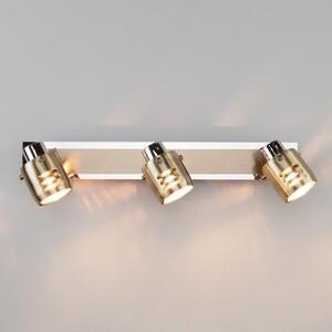 Спот Eurosvet 23463/3 хром/античная бронза спот eurosvet 23463 4 хром античная бронза
