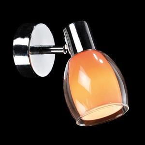 Спот Eurosvet 2688/1 хром/оранжевый