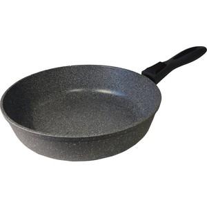 Сковорода d 24 см Любава (КГ24СР) сковорода любава керамогранит серый