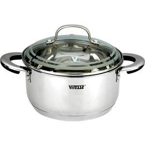 Кастрюля Vitesse VS-1576 кастрюля interos 15231 маслины 5 7 л углеродистая сталь