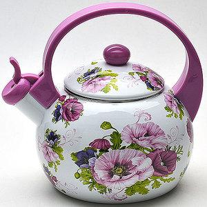 Чайник эмалированный со свистком 2.2 л Mayer and Boch (MB-22499)