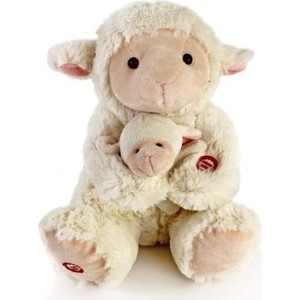 Игрушка мягкая Fluffy Family Мама и малыш Овечка (681018) fluffy animals
