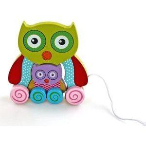 Деревянная игрушка Mapacha Сова с совенком (76422)