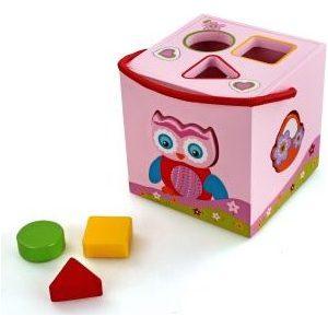 Деревянная игрушка Mapacha Сортер Волшебный кубик (76423)