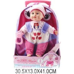 Фотография товара кукла Shantou Gepai с рюкзаком (F1639) (511812)