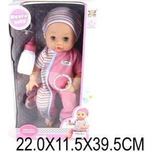 Кукла Shantou Gepai Пупс 8 функц ских ов пьет писает ементы питания вхлдят в комплект (8022B)