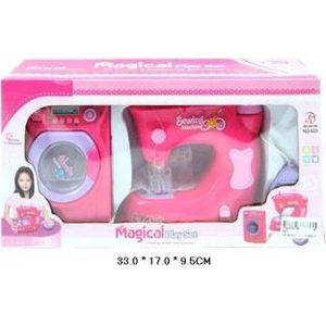 Набор бытовой техники Shantou Gepai стиральная и швейные машины (623) швейные и вязальные машины