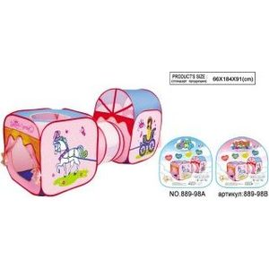 Палатка игровая Shantou Gepai Принцесса (889-98B) игровая палатка shantou gepai пчелкин домик сумка 889 127b