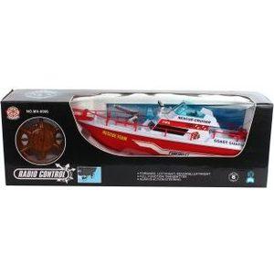 Катер Shantou Gepai на радиоуправлении (MX-0006-15) лодка shantou gepai reskyer city патрульная лодка 15 см красный свет звук 777 20b