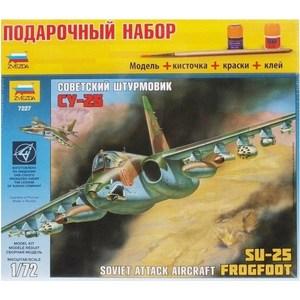 Модель для склеивания Звезда Самолет Су-25 (7227П) звезда самолет томагавк 7201з
