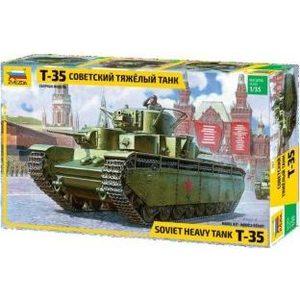 Модель для склеивания Звезда Советский тяжелый танк (3667) танк звезда