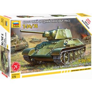 Модель для склеивания Звезда Советский средний танк (5001)  - купить со скидкой