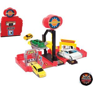Машинка Пламенный мотор Автомойка (87534) машинка пламенный мотор внедорожник 87593