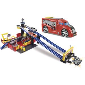 Машинка Пламенный мотор Трейлер Авторалли (87536) машинка пламенный мотор внедорожник 87593
