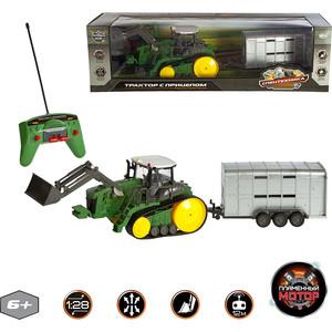 Машинка Пламенный мотор Трактор гусеничный (87572)