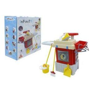Игровой набор Palau Toys INFINITy Inc basic со стиральной машиной (42293) набор средств по уходу за стиральной машиной helfer