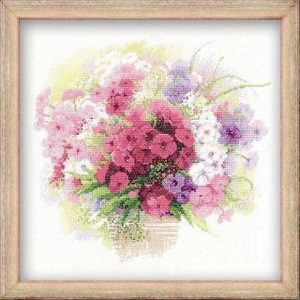 Набор для вышивания Сотвори Сама Акварельные флоксы (1069) 1331 дивный цветок сотвори сама сотвори сама