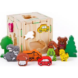 Фотография товара деревянная игрушка Томик Веселые фигурки (968) (515651)
