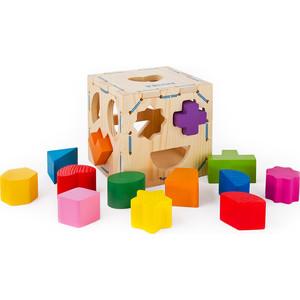 Фотография товара деревянная игрушка Томик Георические фигуры (967) (515652)