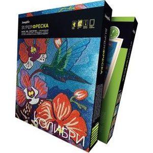 Наборы для творчества Фантазер Супер фреска Колибри (427101) наборы для творчества фантазер фреска рыба