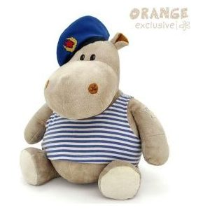 Игрушка мягкая Оранж Бегемот Десантник (MA2640/30D) игрушка мягкая оранж бегемот десантник ma2640 30d