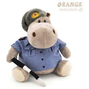 Игрушка мягкая Оранж Бегемот Полицейский (MA2640/20J) игрушка мягкая оранж бегемот десантник ma2640 30d