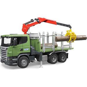 Машинка Collecta Лесовоз Scania (03-524) камаз лесовоз в красноярске