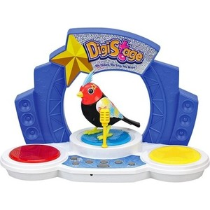 Игрушка DigiBirds Птичка со сценой (88268S)
