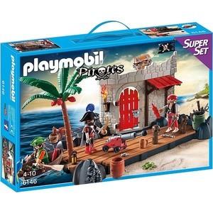 Фотография товара игровой набор Collecta Пиратский Форт (6146pm) (515957)