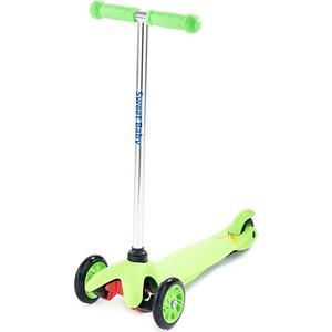 Самокат 3-х колесный Sweet Baby Triplex Bright Green