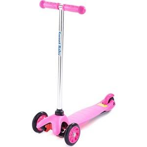 Самокат 3-х колесный Sweet Baby Triplex Bright Pink самокат 3 х колесный sweet baby triplex bright up pink 378463