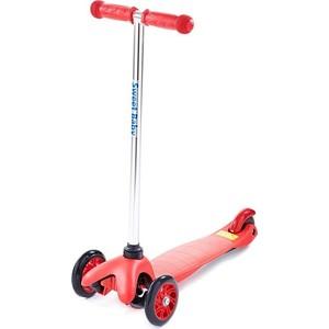 Самокат 3-х колесный Sweet Baby Triplex Bright Red самокат 3 х колесный sweet baby triplex bright up red 378464