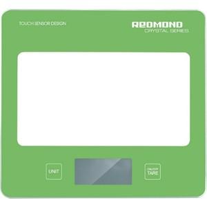 Кухонные весы Redmond RS-724, зеленый кофеварка redmond rсm 1502