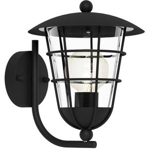 Уличный настенный светильник Eglo 94834 lgo уличный настенный светодиодный светильник eglo emollio 96275