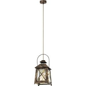 Подвесной светильник Eglo 49347 ferrario краска масляная van dyck цвет 54 церулеум 60 мл