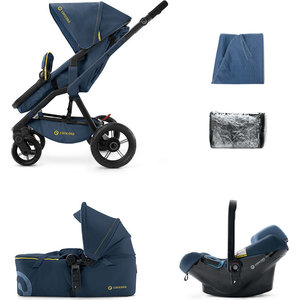 Коляска 3 в 1 Concord Wanderer Mobility Set (3 в 1) Denim Blue 2015 (WASC0965R)
