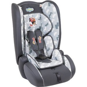 Автомобильное кресло Смешарики чёрн/тёмсерый (SM/DK-300 Pin) цена