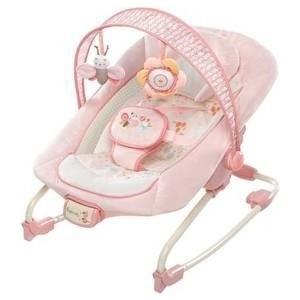 Фотография товара кресло-качалка Bright Starts InGenuity Розовое счастье (10283) (520878)