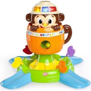 Развивающая игрушка Bright Starts Обезьянка в бочке (52094) игрушка подвеска bright starts развивающая игрушка щенок
