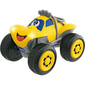 Игрушка машинка Chicco Билли большие колеса желтая (617590)