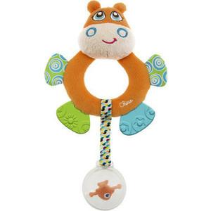 Фотография товара игрушка погремушка Chicco мягкая Бегемот Hippo (7200) (521040)