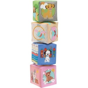Игрушка кубики Chicco мягкие Disney (75180) развивающая игрушка chicco кубики мягкие disney 6м
