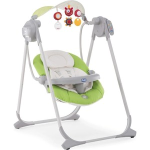 Качели Chicco polly swing up green (7911051) цена 2017