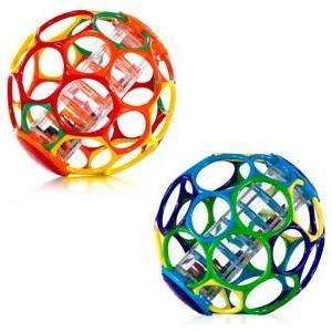 Мячик Oball с погремушкой (81030)