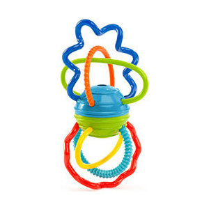 Развивающая игрушка Oball Разноцветная гантелька (81508)