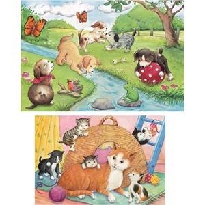 Пазл Ravensburger Веселые животные (9194) ravensburger забавные животные 3х49шт