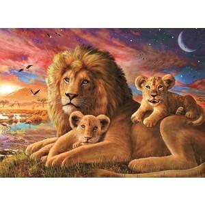 Пазл Ravensburger Семейство львов (14252)