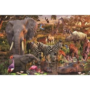 Пазл Ravensburger Животные Африки (17037) ravensburger забавные животные 3х49шт