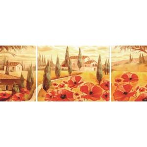 Пазл Ravensburger триптих Маки Тосканы (19994)
