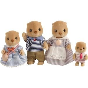 Игровой набор Sylvanian Families Семья Морских Бобров (4797) игрушка sylvanian families семья серых кроликов
